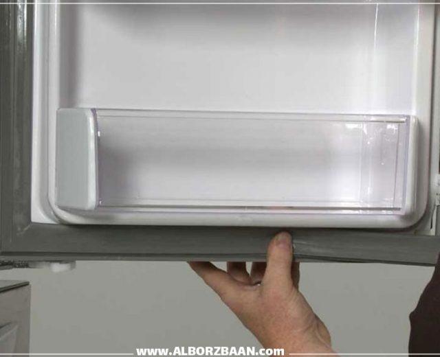 مشکلات مربوط به لاستیک های دور درب یخچال