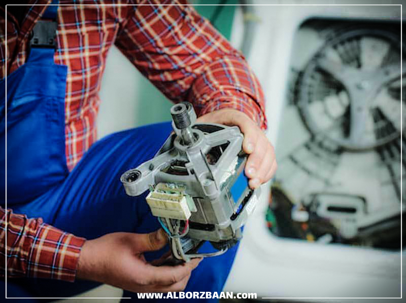 What is the cause of the washing machine's noise?
