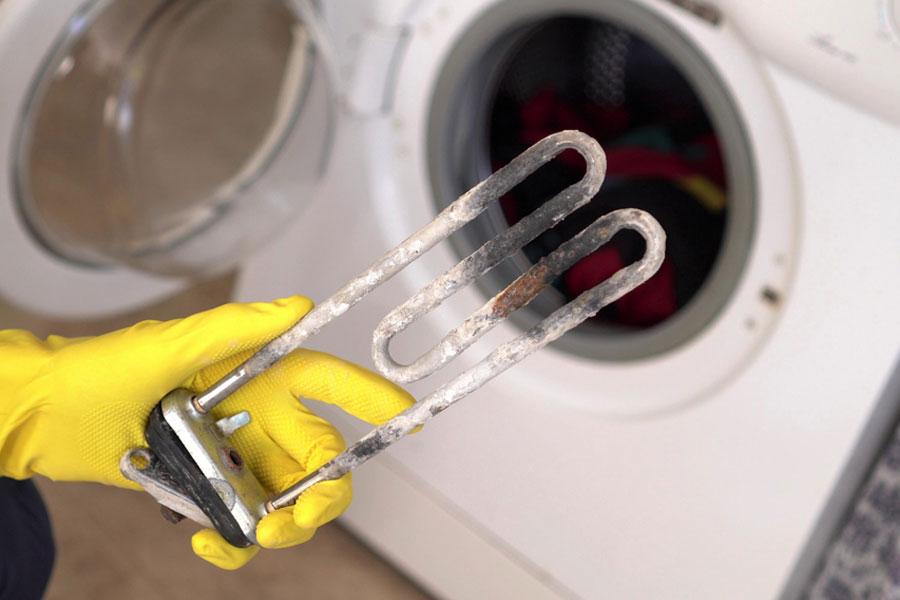 خرابی المنت لباسشویی