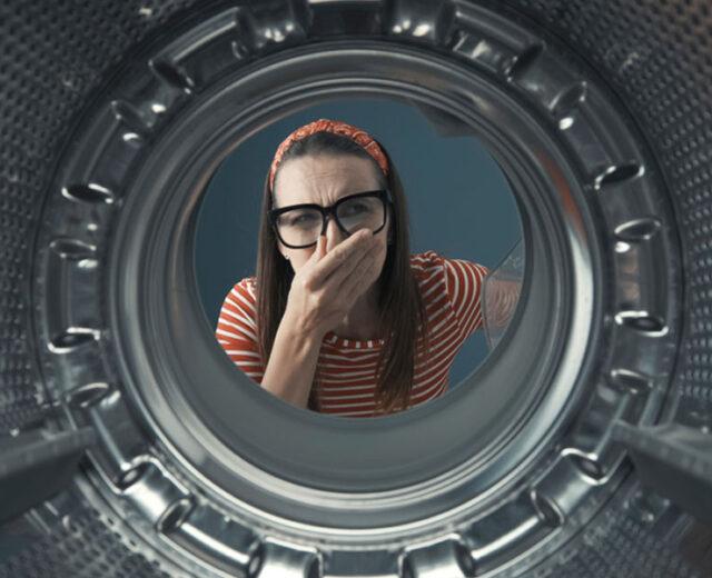 علت بوی سوختگی لباسشویی