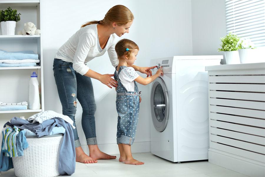 قفل کودک لباسشویی