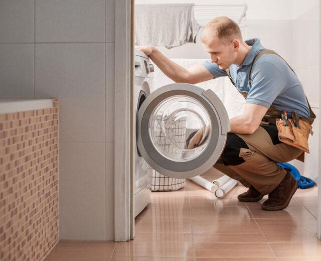 تخلیه آب لباسشویی